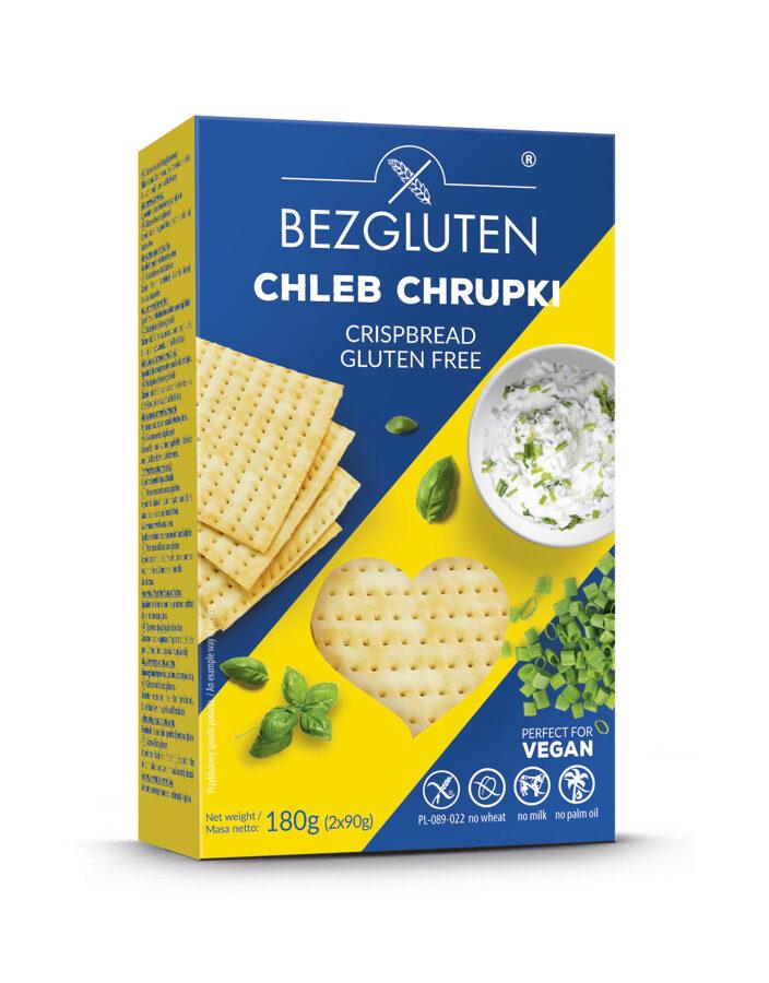 Gluten free crisp bread, 180 g.