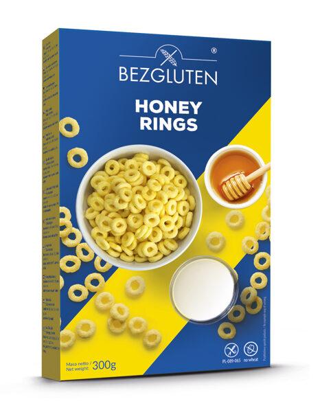 Gluten free honey rings, 300 g.