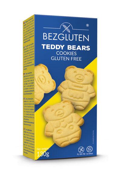 Bezglutēna cepumi Teddy lācīši, 120 g.