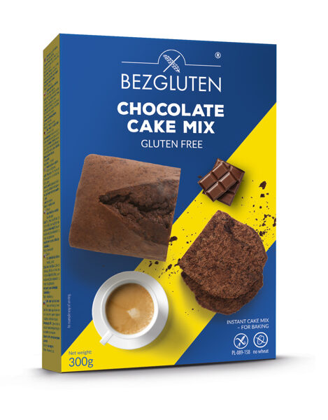 Gluten free cake with chocolate /instant cake mix/, (for baking), 300 g.
