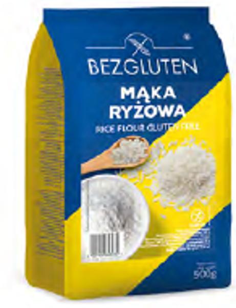 Gluten free rice flour, 500 g.