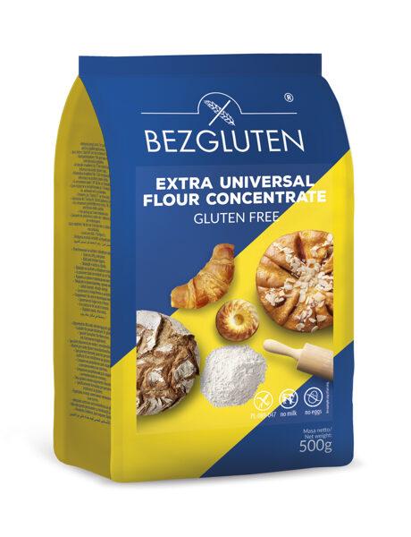 Gluten free universal flour mix - EXTRA, 500 g.