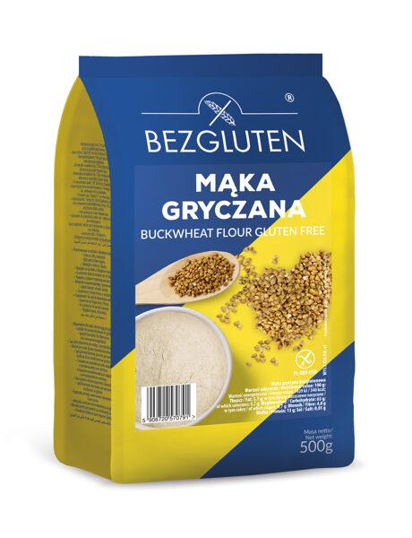 Gluten free buckwheat flour, 500 g.