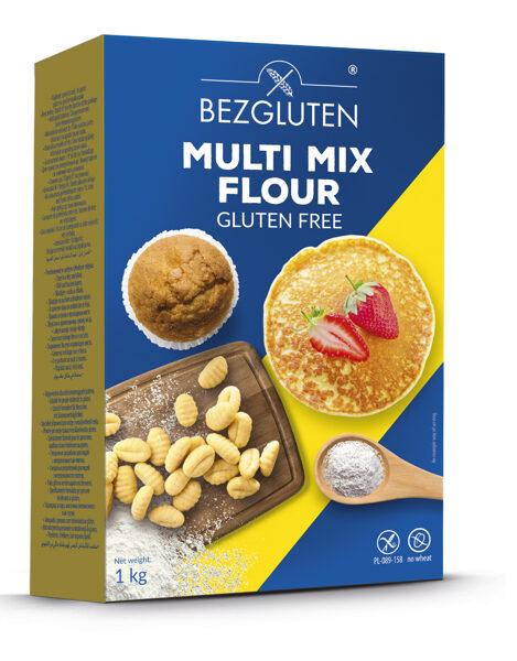 Gluten free multi mix flour, 1000 g.