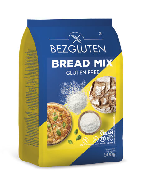 BREAD MIX- Mix for gluten free bread and pizza, 500 g.
