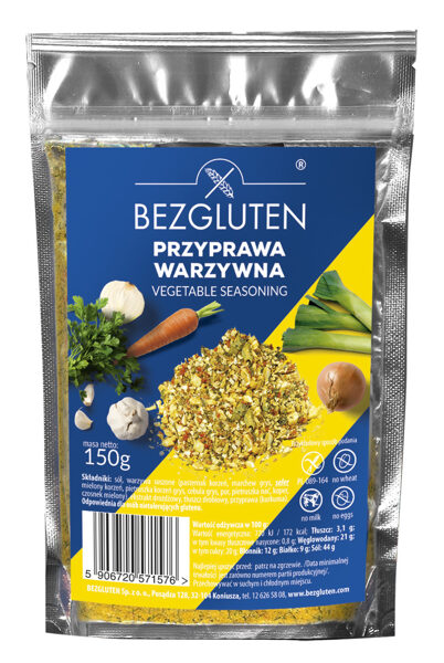 Gluten-free vegetable seasoning, 150 g.