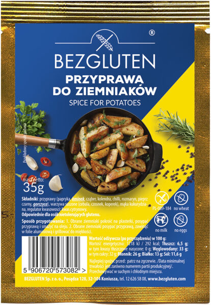 Gluten free spices for potatoes, 35 g.