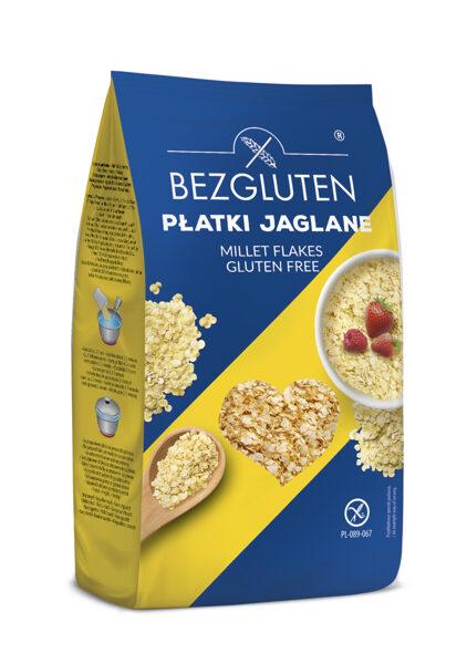 Gluten free millet flakes, 300 g.
