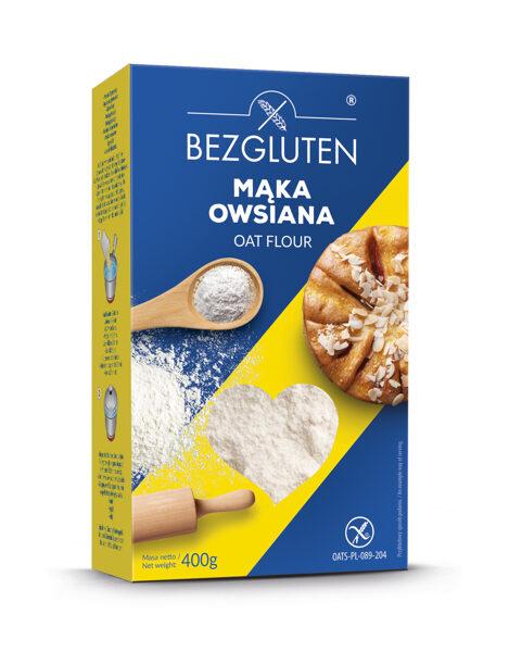 Gluten free wholegrain oat flour, 400 g.