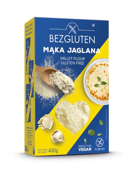 Gluten free millet flour, 400 g.