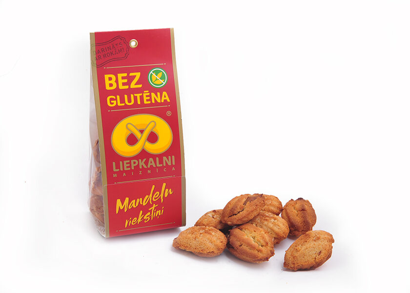 "Gluten free cookies ""Almond nuts"" 120 g"