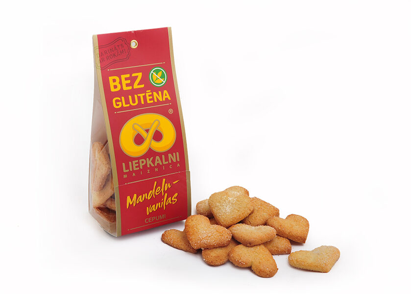 Gluten free almond - vanilla cookies 120 g
