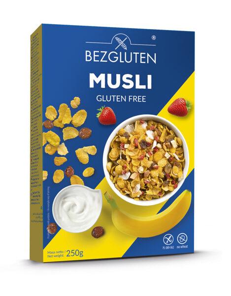 Bezglutēna brokastu Musli, 250 g.