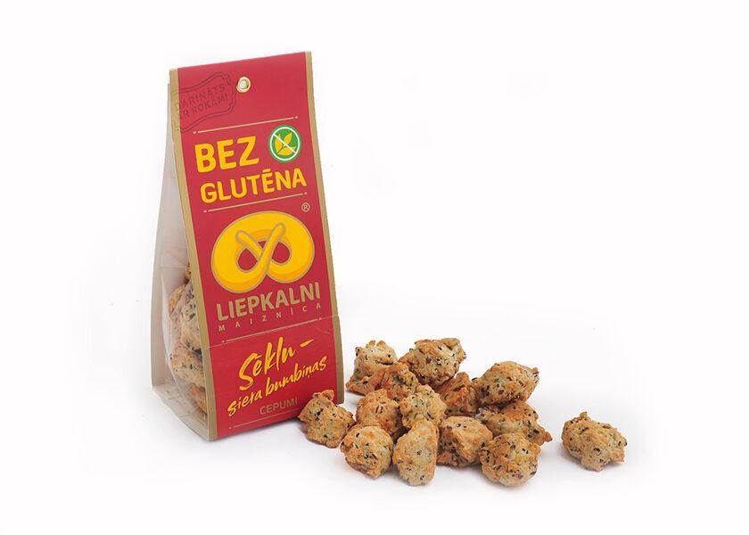 """Cookies""""Seed-Cheeseballs""""120g"""